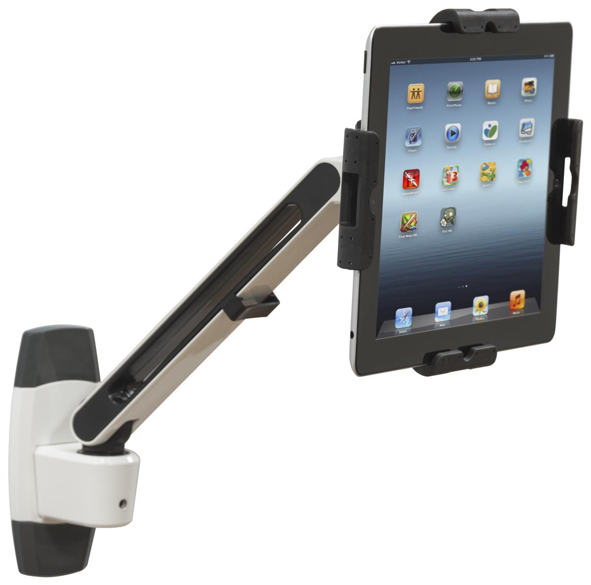 Articulating Tablet Wall Mount Universal Fit Enclosure