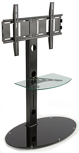 Stand For 70 Inch Tv Adjustable Glass Shelf
