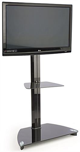 "Flat TV Stand With Mount for 37"" - 70"" Monitors"