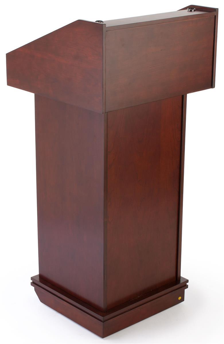 Wood Lecterns Red Mahogany School Furniture
