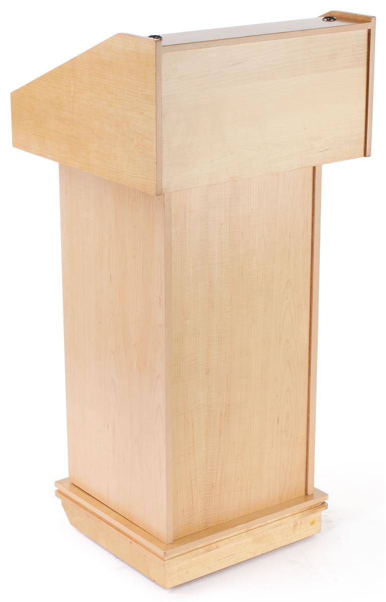 Maple Veneer Lectern Podium Perfect For Churches Amp Schools