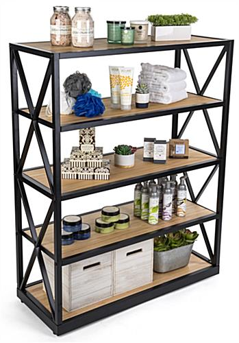 engineers industrial bookcase shelves provides convenient storage