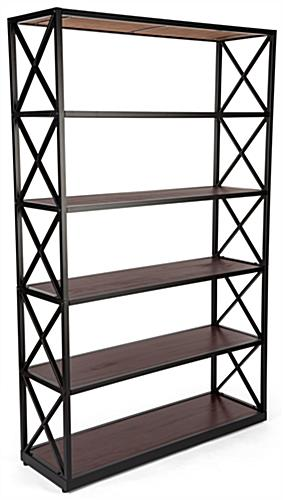 Steel etagere x shelves