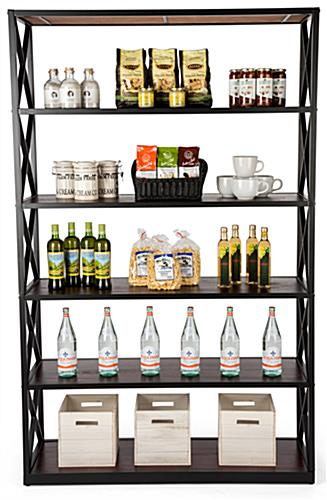 Large etagere x shelves