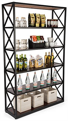 6-tier etagere x shelves