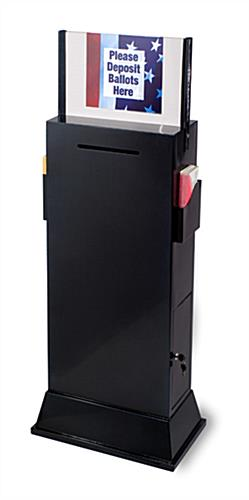 Metal Suggestion Stands Custom Header Amp Literature Pockets