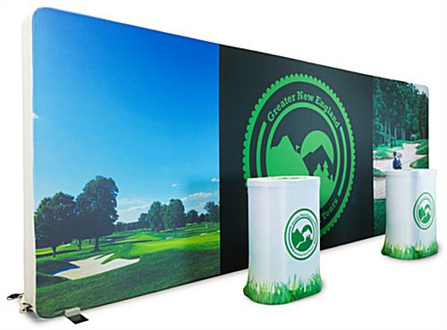 Large 10x20 lightbox trade show booth package