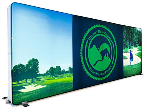 Full color 2-sided replacement graphic for YD201 series backwall