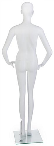 Boutique Mannequin with Tempered Glass Base