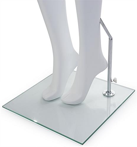 Boutique Mannequin with Accented Feet
