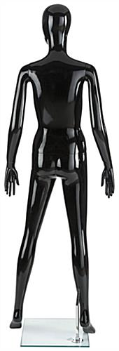 Gloss Black Abstract Mannequin
