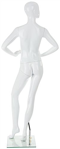 Abstract Female Fiberglass Mannequin With Sturdy Construction