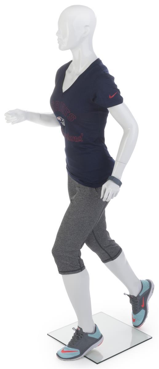Female Running Mannequin Jogging Pose