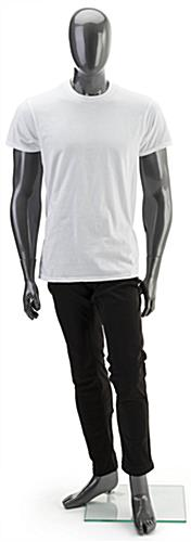 Muscular Gray Male Mannequin