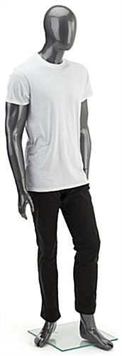 Abstract Gray Male Mannequin
