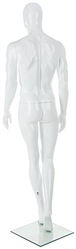 Abstract Male Fiberglass Mannequin W/ Detachable Body Parts