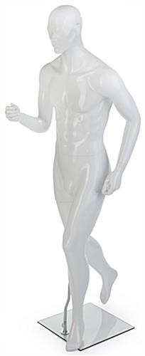 Male Sports Mannequin with Fully Formed Hands