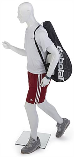 Male Sports Mannequin with Detachable Hands