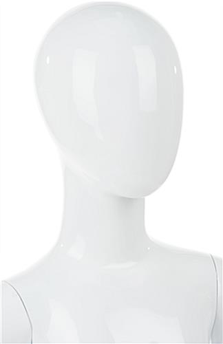 Abstract Child Mannequin With No Facial Features
