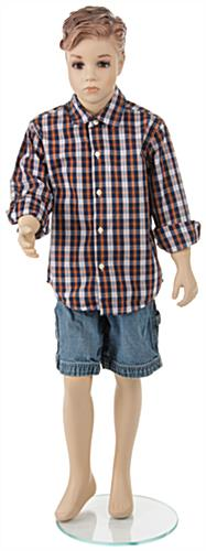 Realistic Child Mannequin For Ages 4 - 7 Years Old