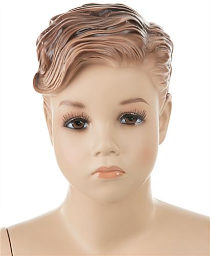 Realistic Child Mannequin with Very Lifelike Facial Detailing