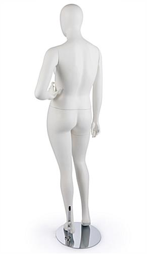 Rear View of Size 10 Mannequin