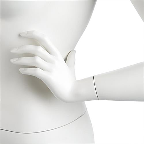 Size 10 Mannequin Close Up of Fully Formed Hands