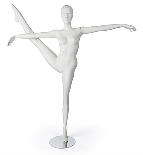 Front Shot of Semi-Abstract Dancing Mannequin