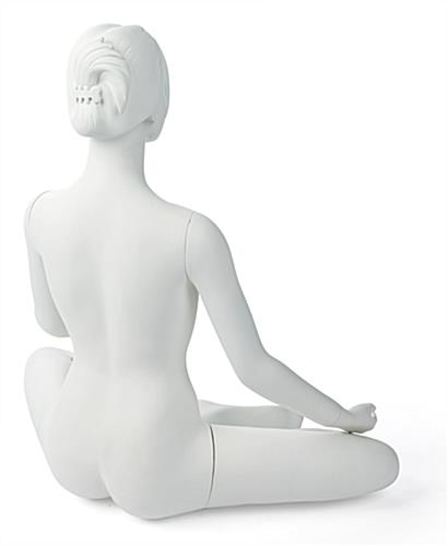 Back of Sitting Yoga Mannequin