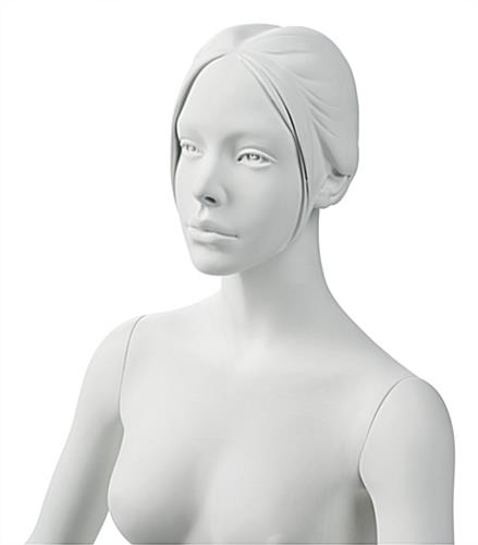 Upper Body of Sitting Yoga Mannequin