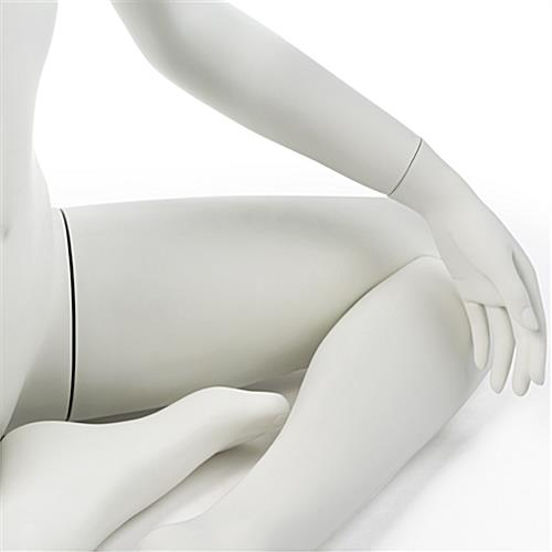 Sitting Yoga Mannequin with Detachable Limbs