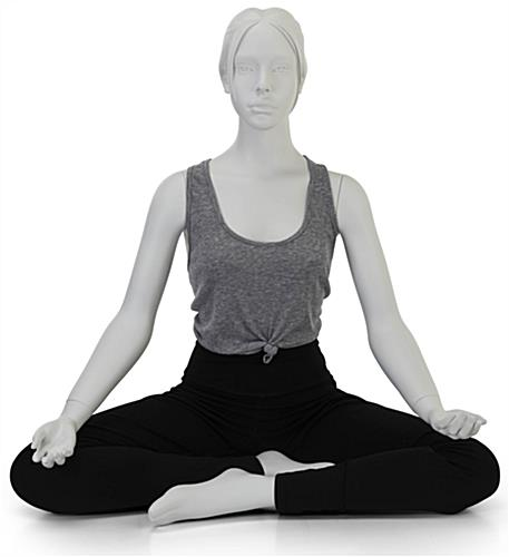 Sitting Yoga Mannequin in Sitting Pose