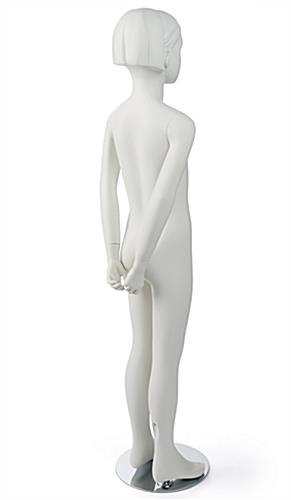 Semi-Abstract Girl Mannequin With Heel Rod