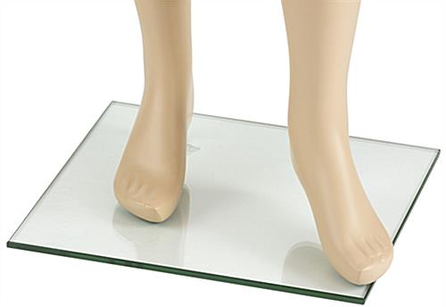 Plus Size Mannequin with Accented Feet