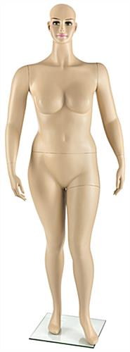 Plus Size Mannequin with Average Dimensions