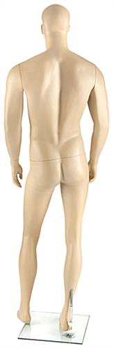 Pivoting Athletic Male Mannequin