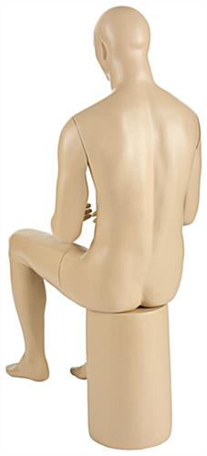 Proportional Seated Male Mannequin