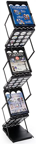 Double-Sided Portable Magazine Holder