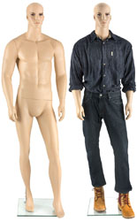Full Body Athletic Male Mannequin