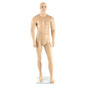 Athletic Male Mannequin with Detachable Limbs, Hands, and Torso