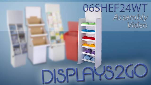 <p> These POS cardboard displays stand at over 6' tall to merchandise a variety of products! Assembly is simple with flexible material and pre-folded pieces. Watch this video to see how quickly each unit assembles and is ready for use in your location!</p>