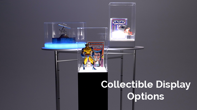 Collectible Display Cases for your Home or Business
