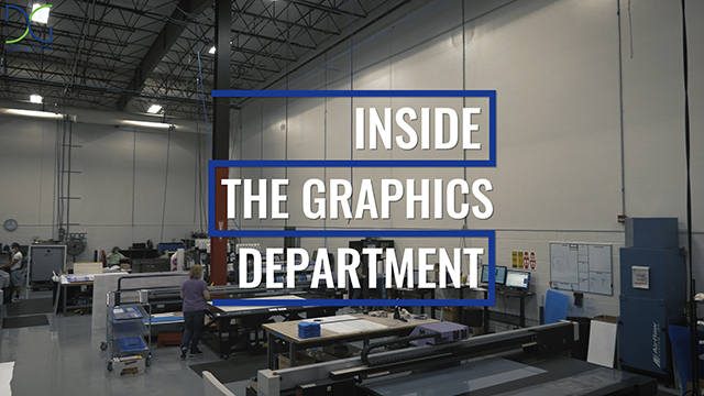 Inside the Graphics Department at Displays2go