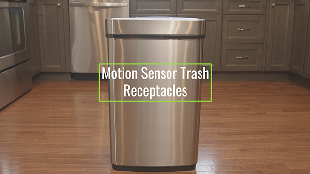 Touchless Trash Receptacles