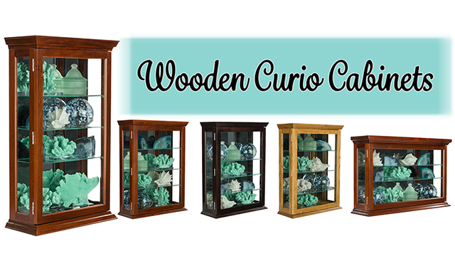 Feature Demo: CC2 Wooden Curio Cabinets