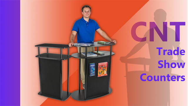 Assembly: CNT Hook & Loop Tradeshow Counter Series