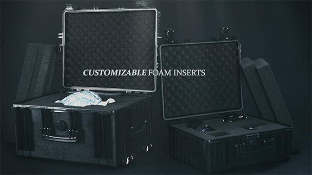 Product Series Showcase: Customizable Cubed Foam Inserts