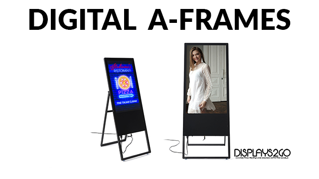Product Intro: Indoor A-Frame Digital Signage