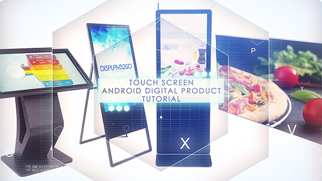 Learn the basics regarding the android operating system on some of our more popular digital products. Utilizing the touch screen technology you can help yourself create personalized layouts and see some quick tips for making you navigate faster around your digital touchscreen.