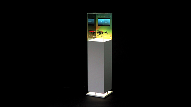 Showcase: Digital Display Case